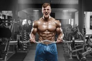 Testosteron beschleunigt Deinen Muskelaufbau
